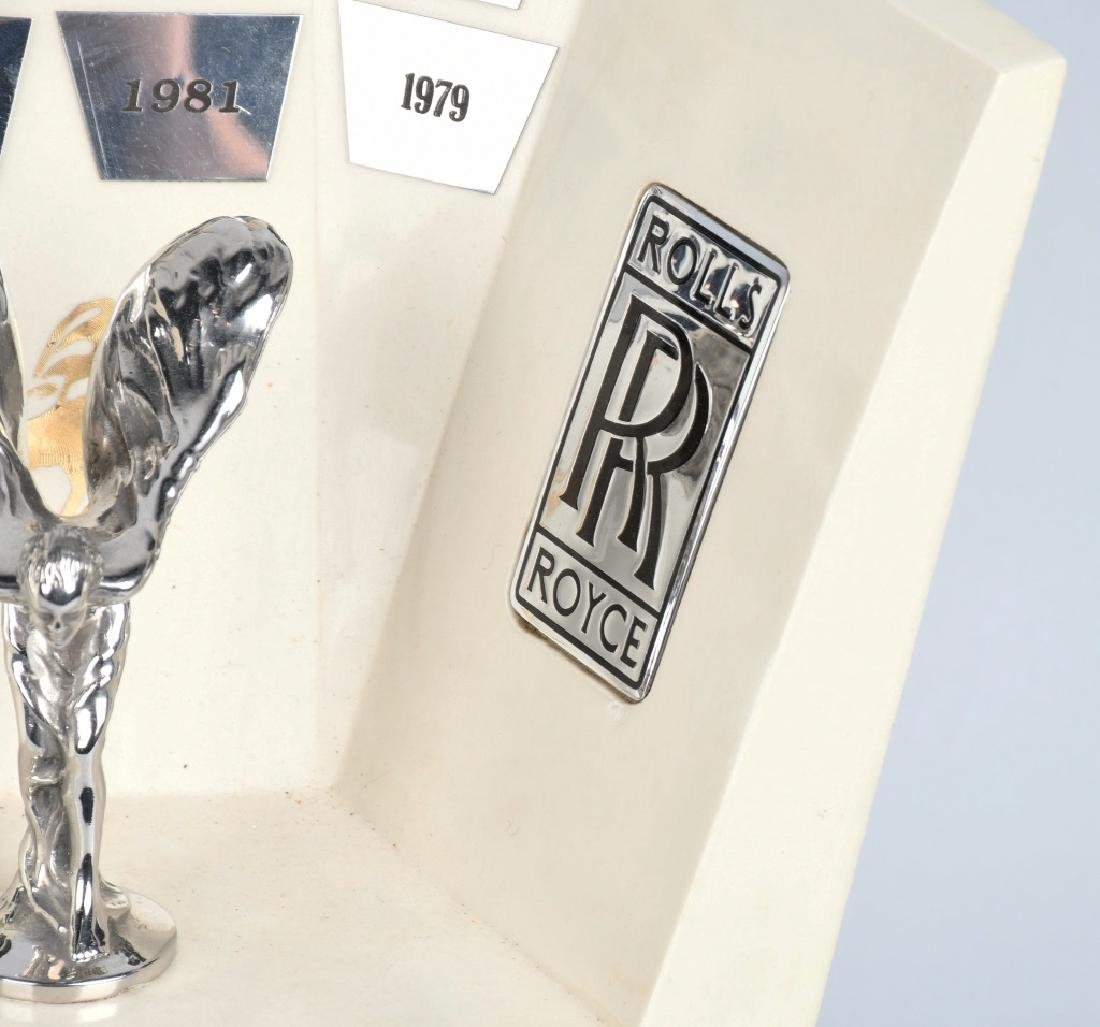 ORDER OF THE SILVER LADY ROLLS ROYCE DEALER AWARD - 4