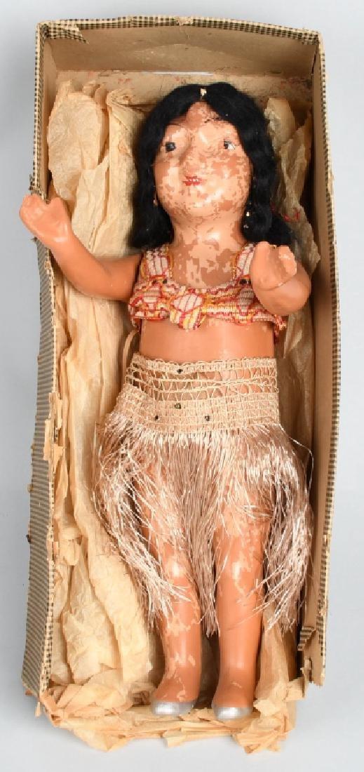 1920s ZAIDEN MECHAINICAL COMPOSTION HAWAIIAN GIRL