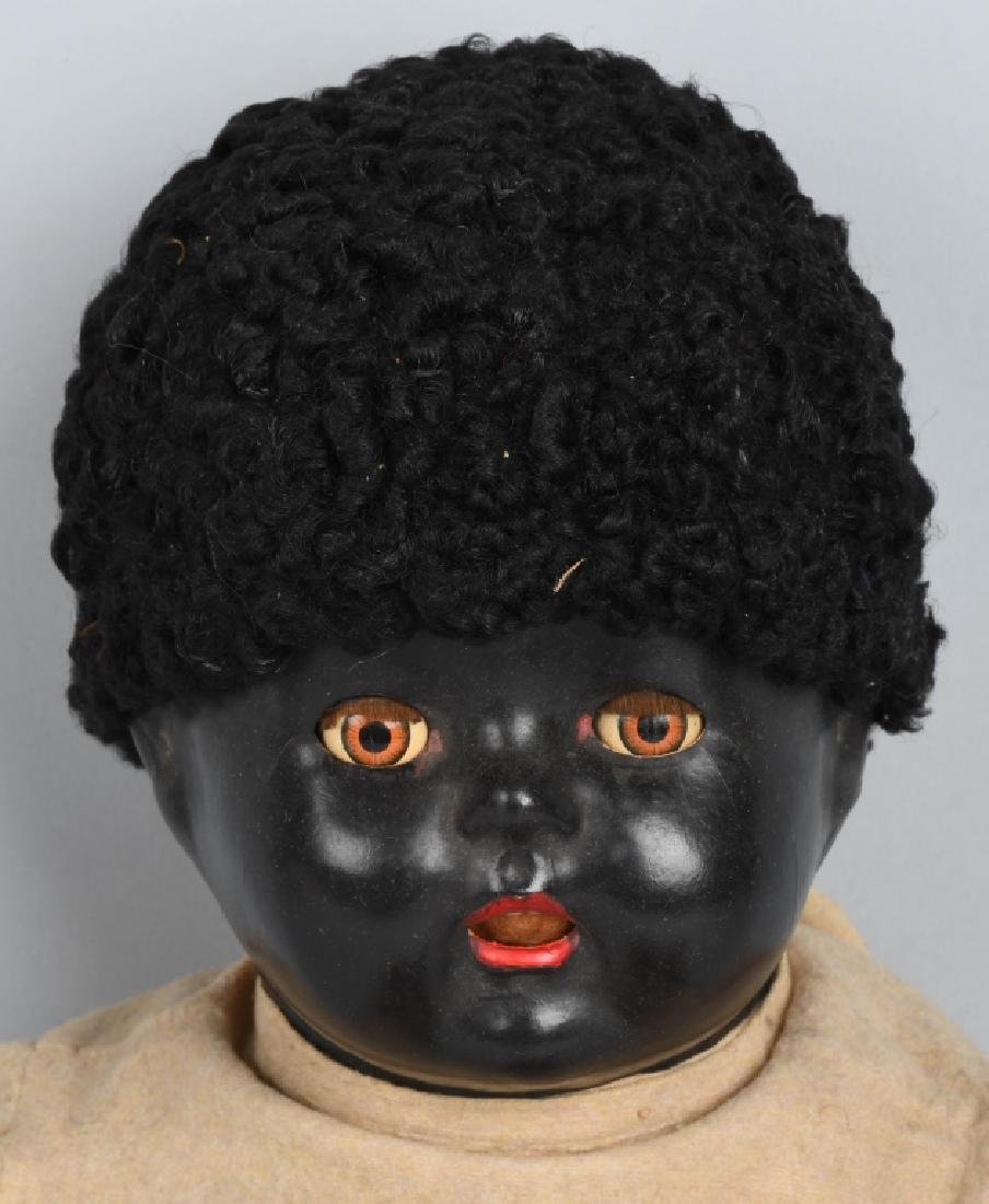 "24"" BLACK COMPOSITION DOLL - 2"