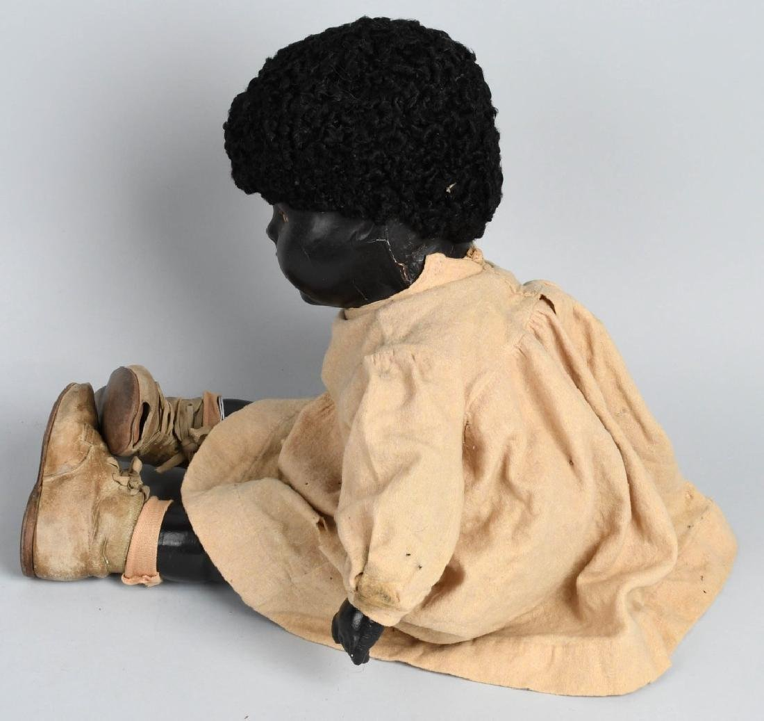 "24"" BLACK COMPOSITION DOLL - 3"