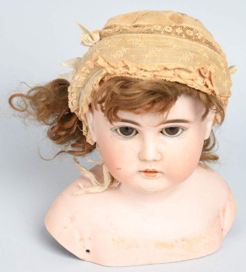 "30"" GERMAN BISQUE DOLL Marked 0 - 2"