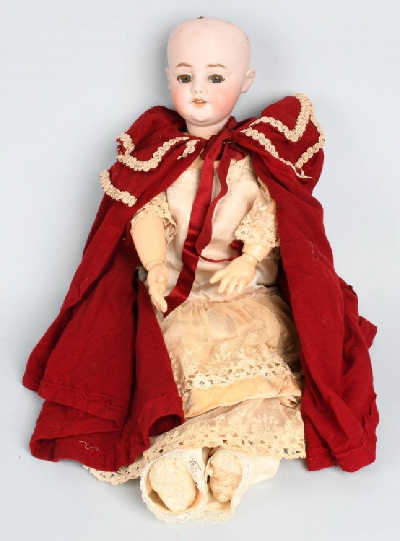 "22"" SIMON & HALBIG GERMAN BISQUE DOLL 1039"