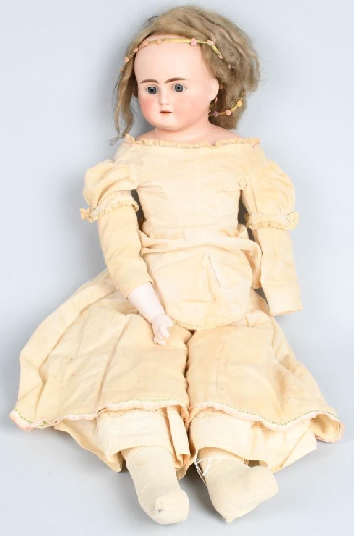 "27"" GERMAN BISQUE DOLL 1123"