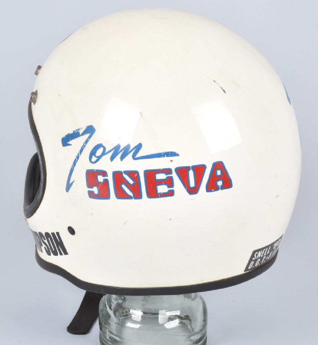 INDIANAPOLIS 500 WINNER TOM SNEVA HELMET - 2