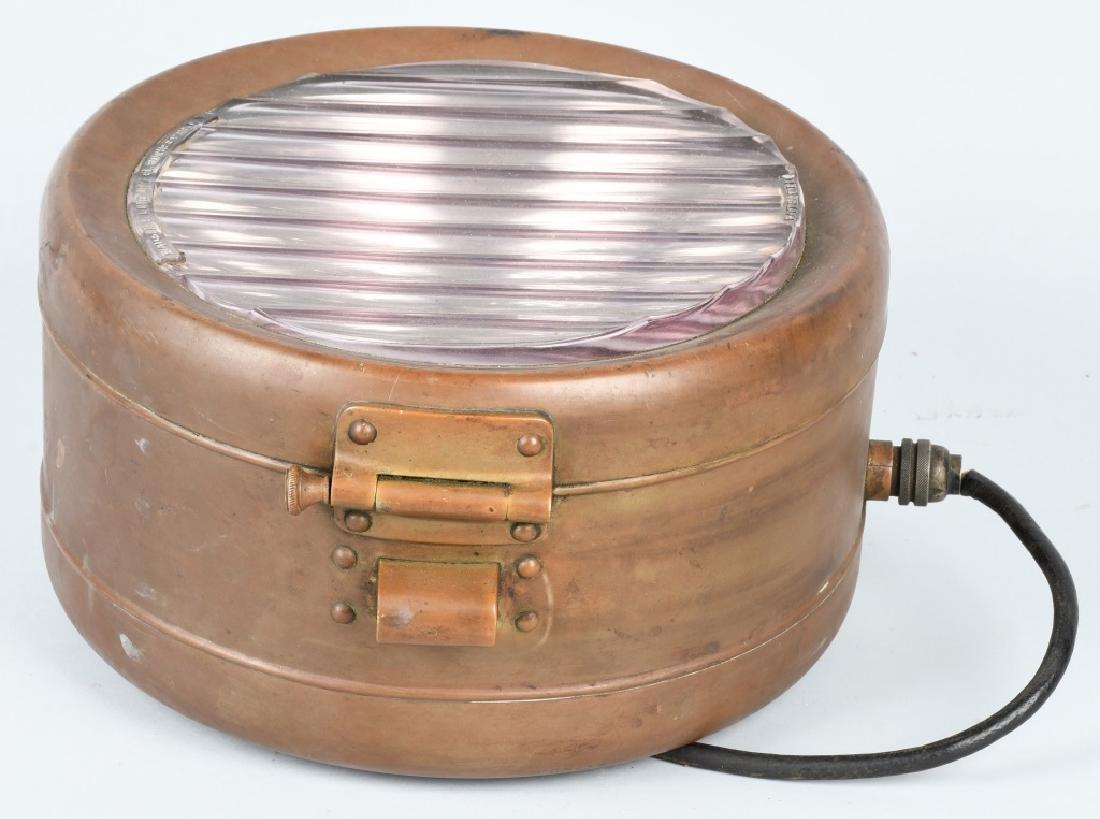 BAUSCH & LOMB BRASS SPOT LIGHT - 2