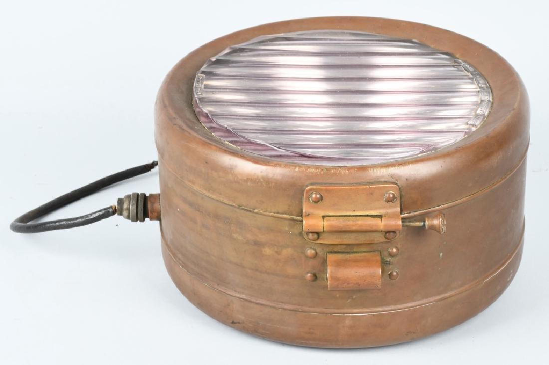 BAUSCH & LOMB BRASS SPOT LIGHT - 3