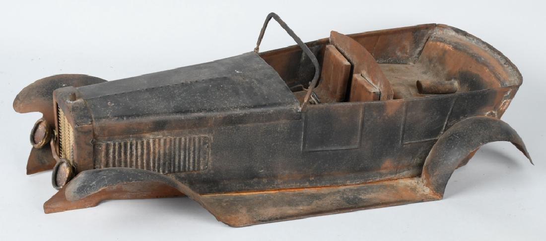 """27"""" 1920s STEEL CAR BODY STYLING MODEL"""