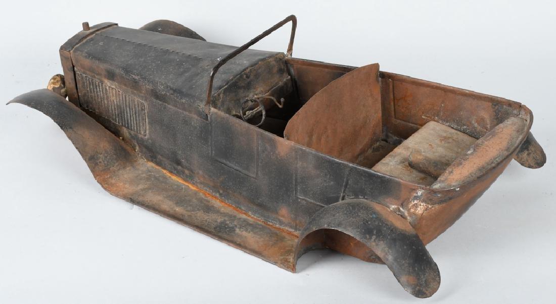 """27"""" 1920s STEEL CAR BODY STYLING MODEL - 2"""