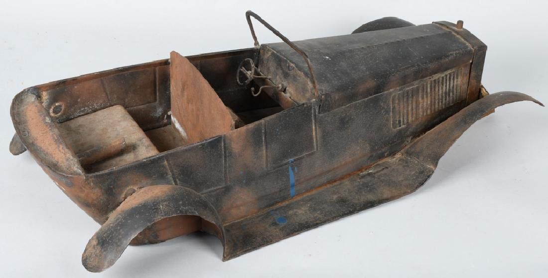 """27"""" 1920s STEEL CAR BODY STYLING MODEL - 3"""