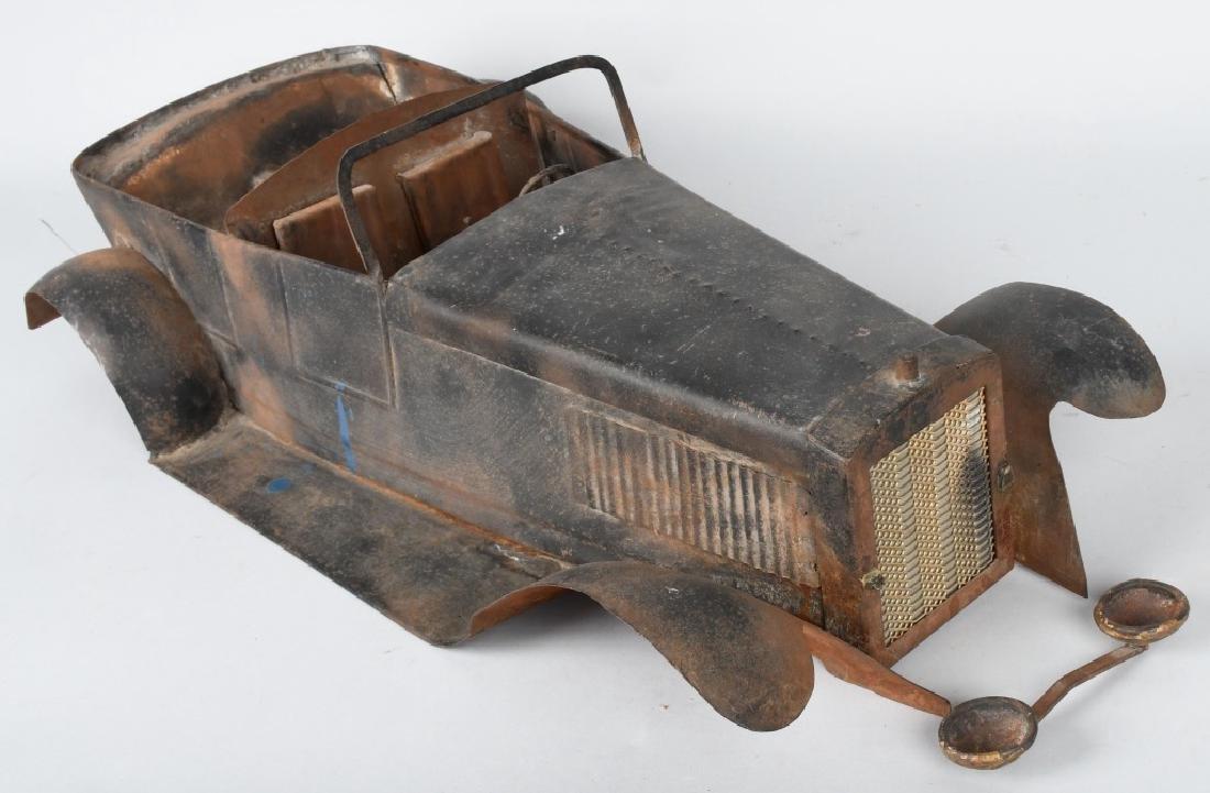 """27"""" 1920s STEEL CAR BODY STYLING MODEL - 6"""
