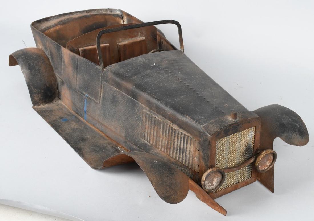 """27"""" 1920s STEEL CAR BODY STYLING MODEL - 7"""