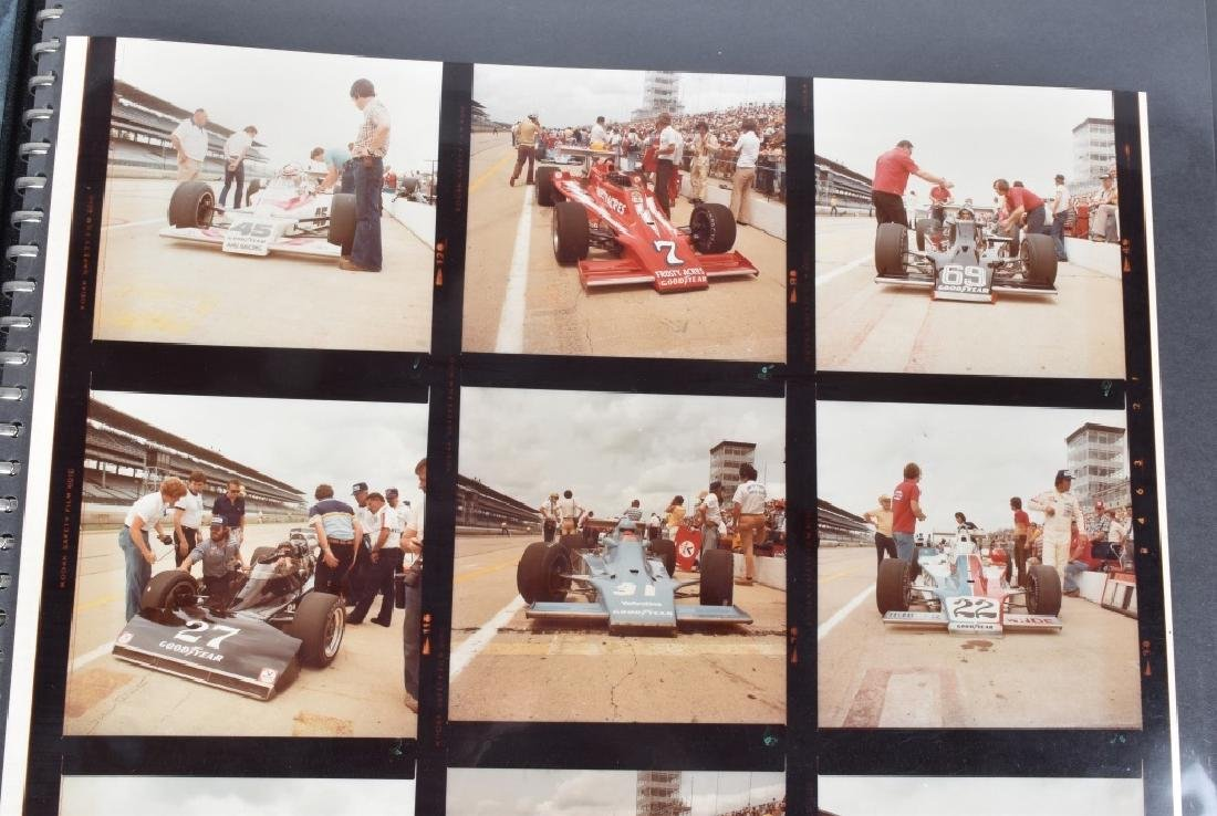 PHOTO ARCHIVE OF 1970s INDY RACE CARS & DRIVERS - 10