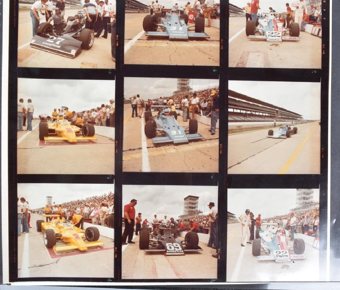 PHOTO ARCHIVE OF 1970s INDY RACE CARS & DRIVERS - 2