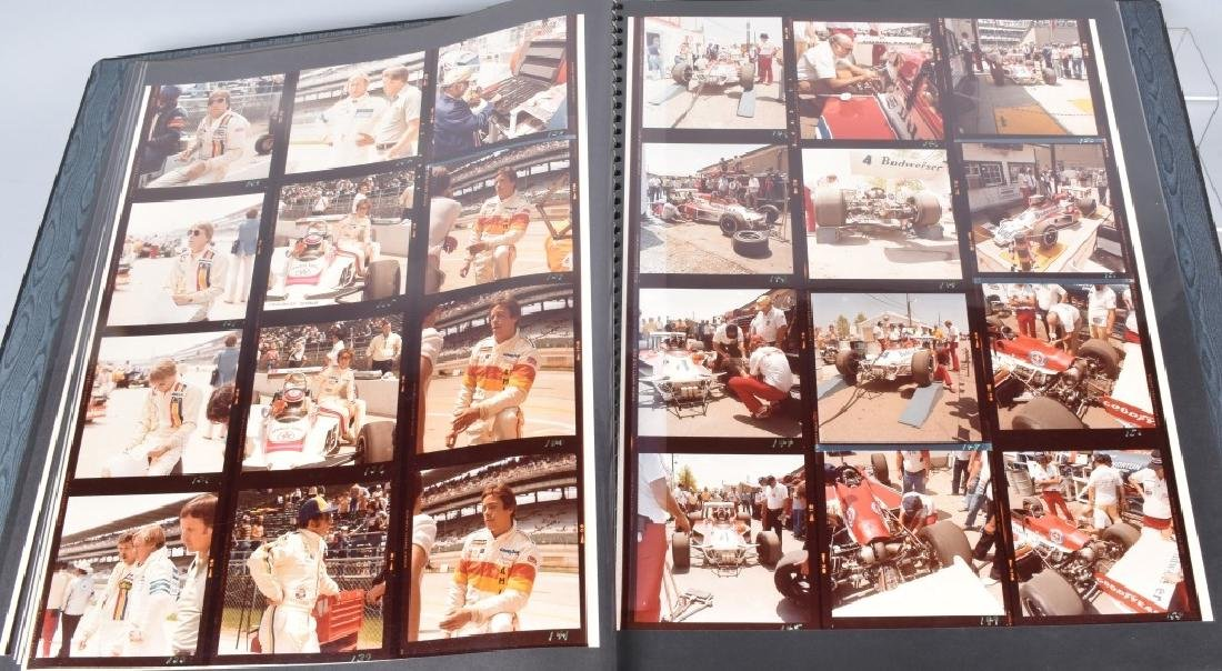 PHOTO ARCHIVE OF 1970s INDY RACE CARS & DRIVERS - 5