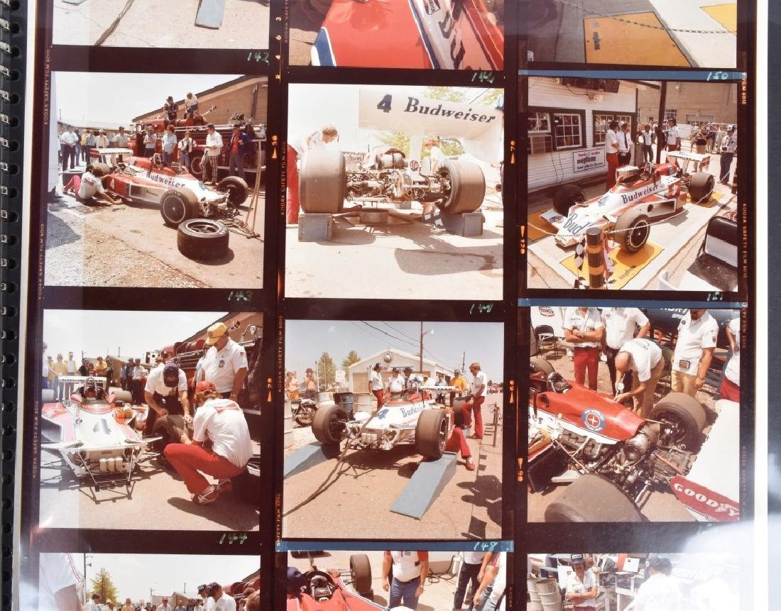 PHOTO ARCHIVE OF 1970s INDY RACE CARS & DRIVERS - 6