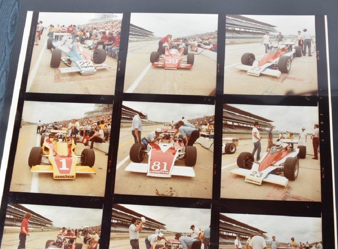 PHOTO ARCHIVE OF 1970s INDY RACE CARS & DRIVERS - 9
