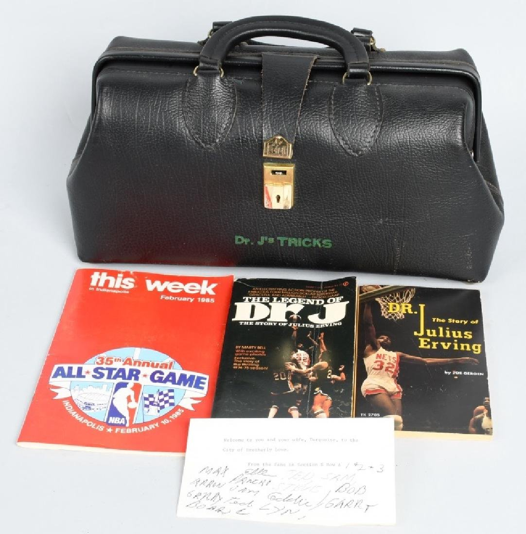 "DR J ""JULIUS ERVING"" TRICK BAG & MORE"