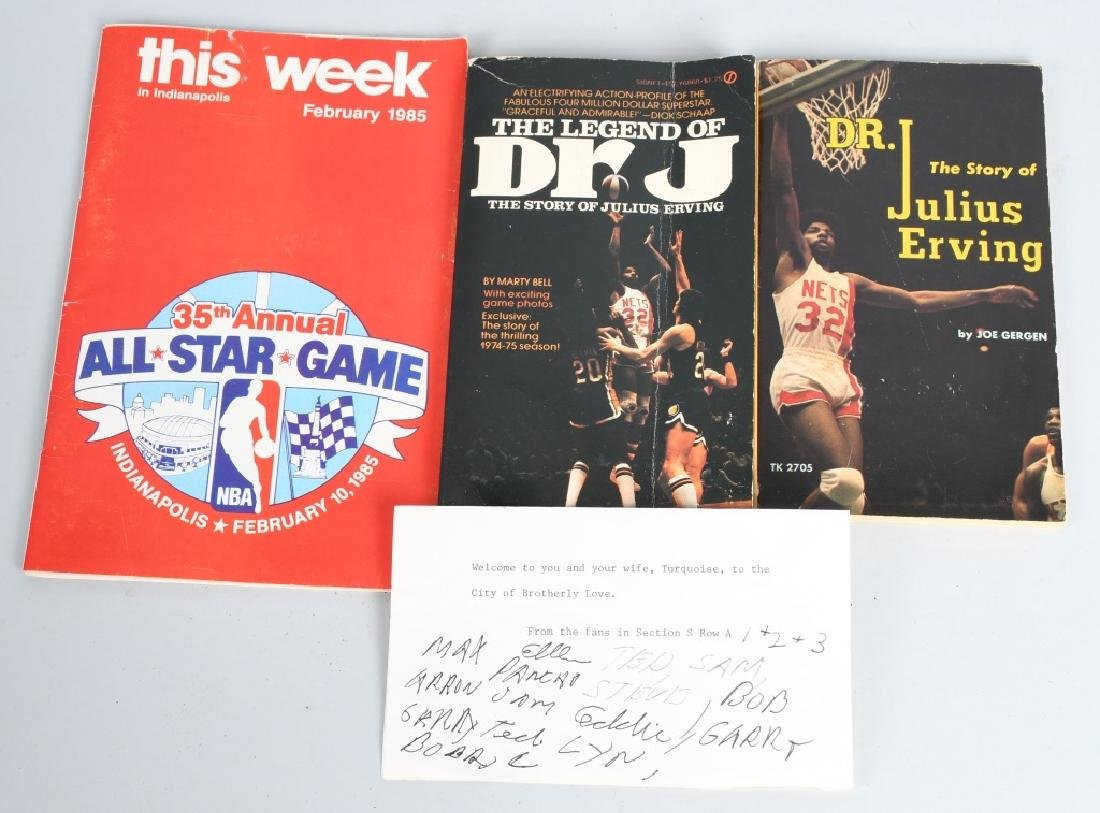"DR J ""JULIUS ERVING"" TRICK BAG & MORE - 2"