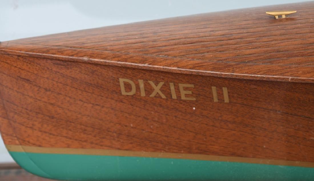 OLD MODEL HANDICRAFTS DIXIE II RACE BOAT - 5