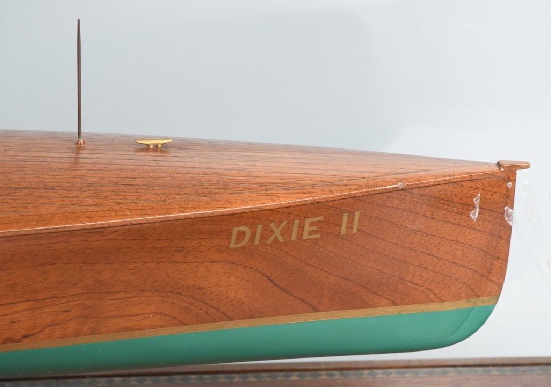OLD MODEL HANDICRAFTS DIXIE II RACE BOAT - 7