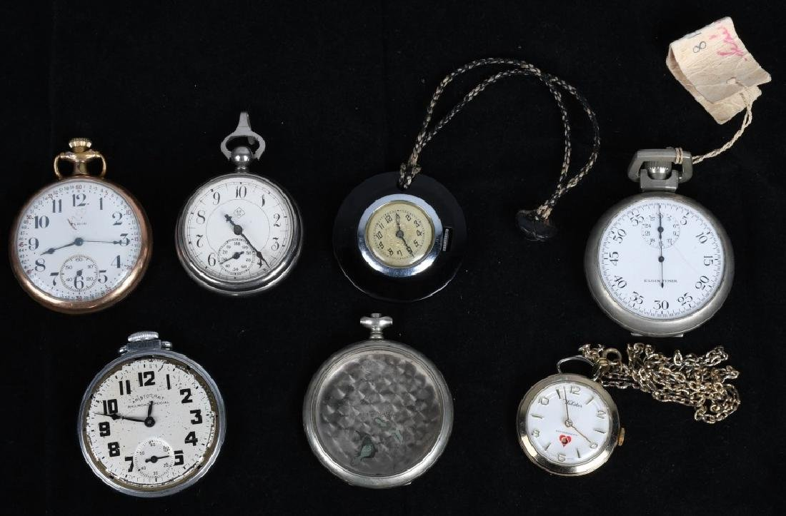 LOT OF VINTAGE POCKET WATCHES