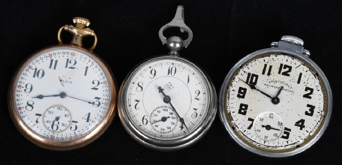 LOT OF VINTAGE POCKET WATCHES - 2