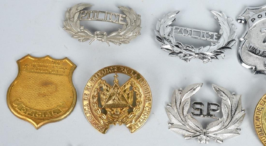 LOT OF VINTAGE POLICE BADGES & MORE - 2