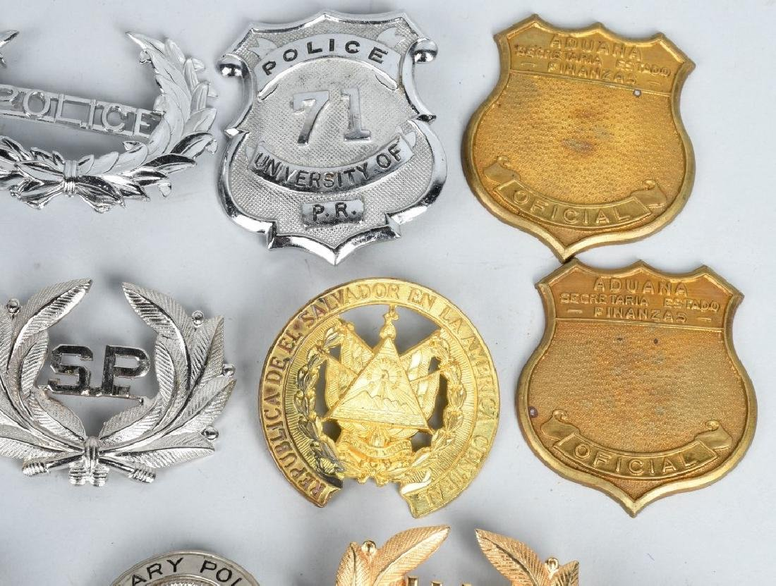 LOT OF VINTAGE POLICE BADGES & MORE - 3