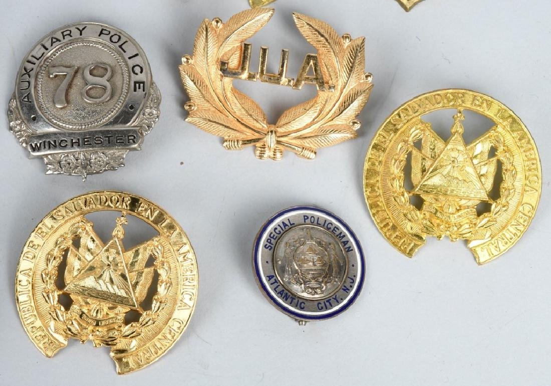 LOT OF VINTAGE POLICE BADGES & MORE - 4