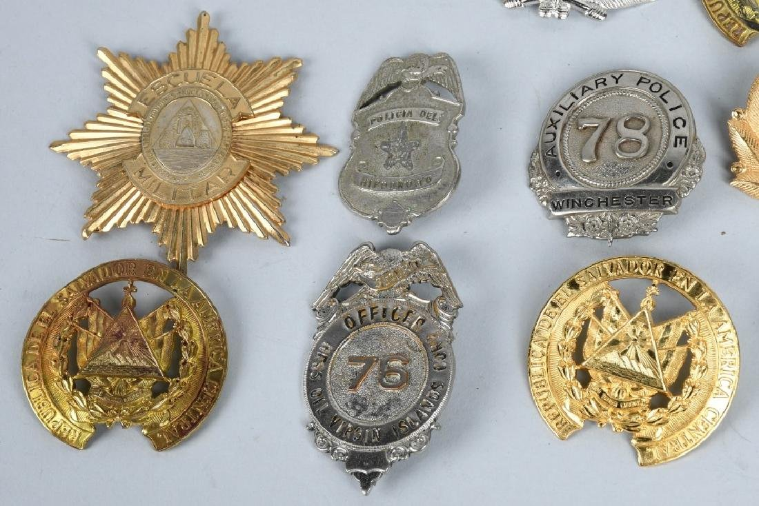 LOT OF VINTAGE POLICE BADGES & MORE - 5