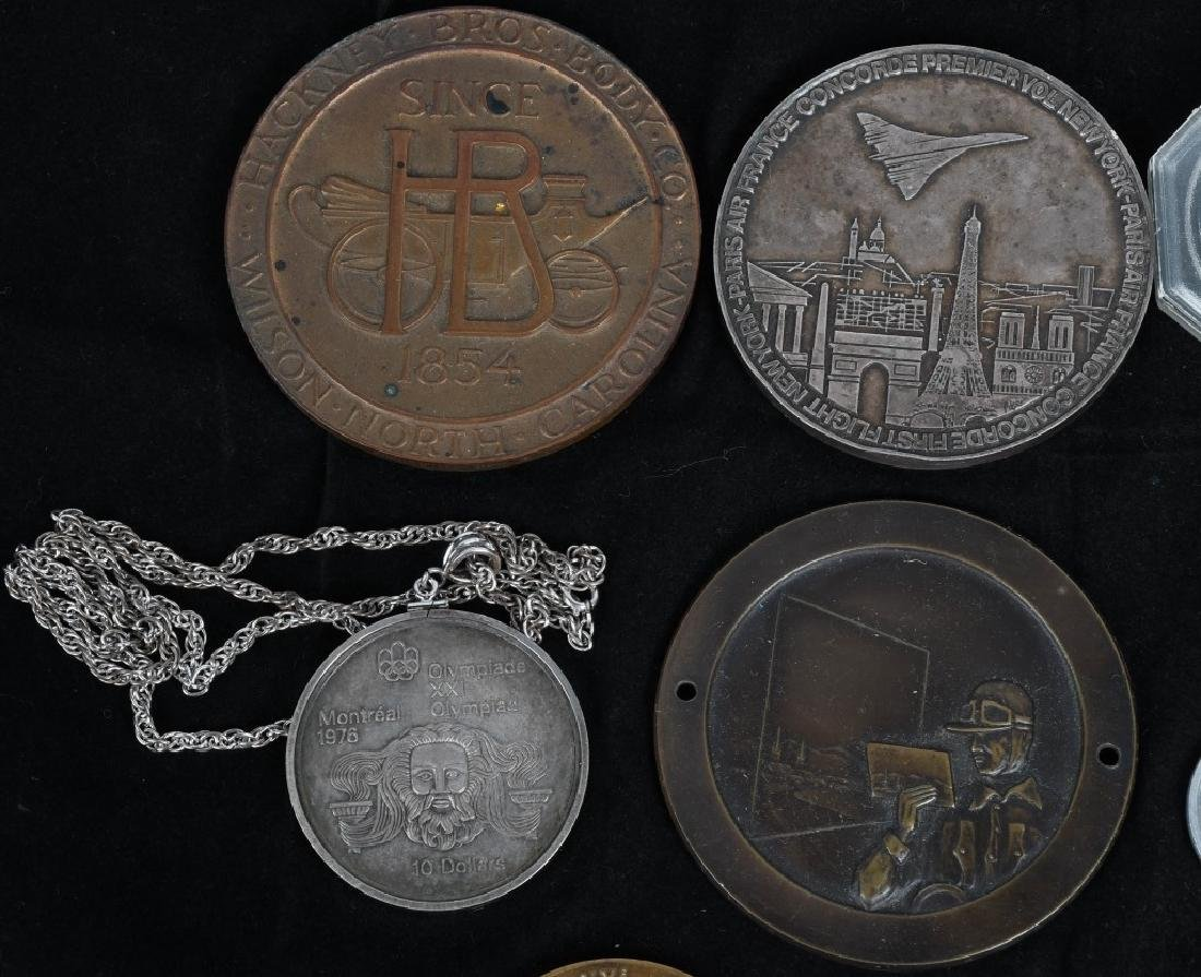 LOT OF MEDALLIONS & TOKENS - 2
