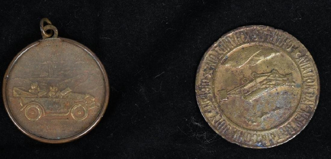 LOT OF MEDALLIONS & TOKENS - 6