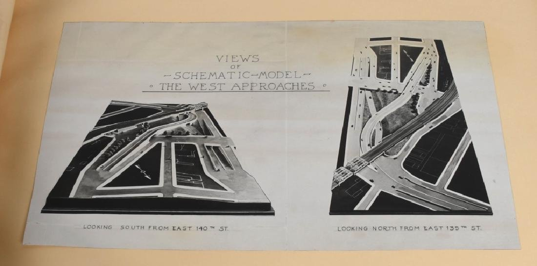 NEW YORK TRIBOROUGH BRIDGE ARCHITECTURAL DRAWINGS - 3