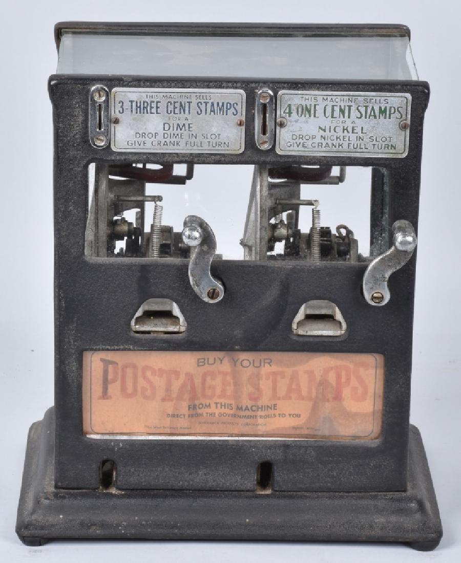 5 & 10 CENT SCHERMACK VISIBLE STAMP VENDOR