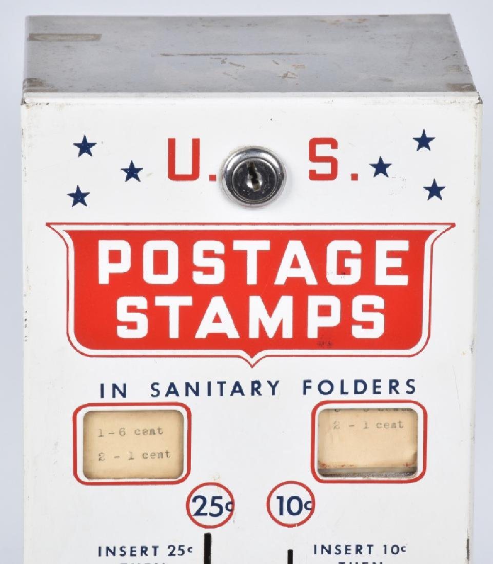 10 & 25 CENT U.S. POSTAGE STAMP VENDOR - 2