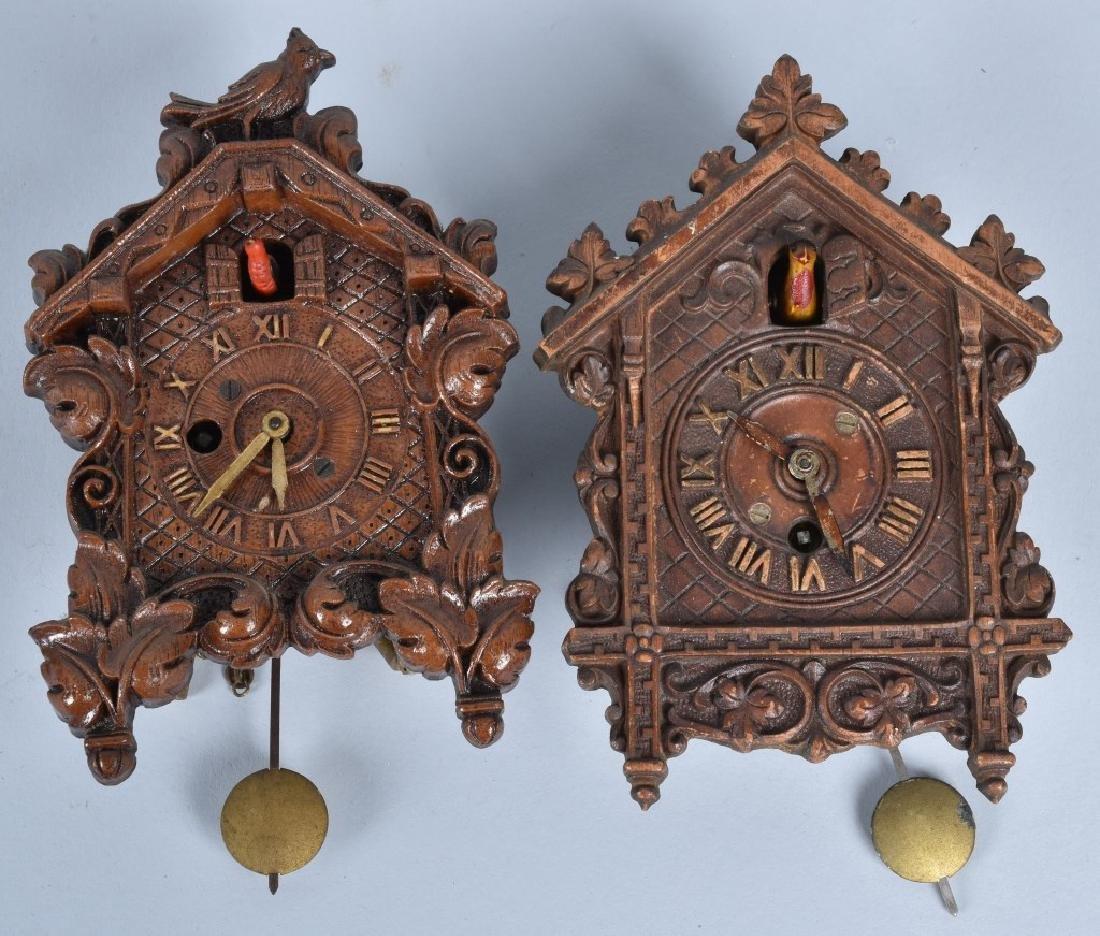 6-VINTAGE LUX and KEEBLER NOVELTY CLOCKS - 2