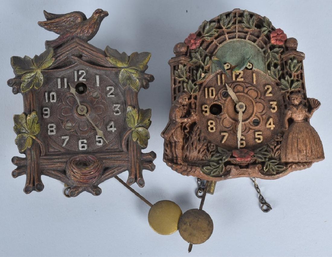 6-VINTAGE LUX and KEEBLER NOVELTY CLOCKS - 4