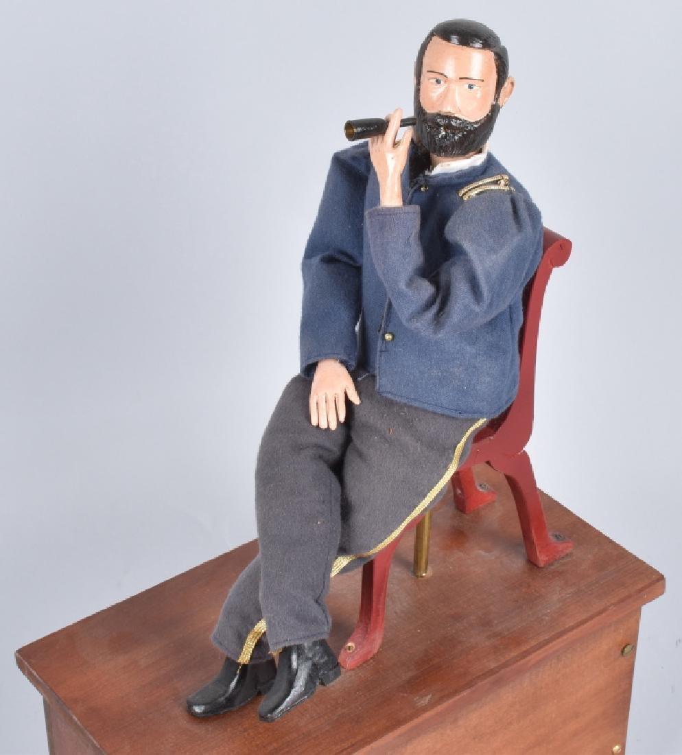 GENERAL ULYSSES S. GRANT CLOCKWORK SMOKER TOY - 2