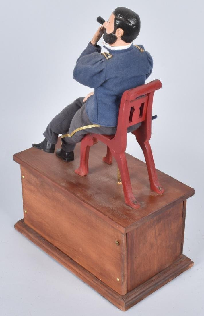 GENERAL ULYSSES S. GRANT CLOCKWORK SMOKER TOY - 4