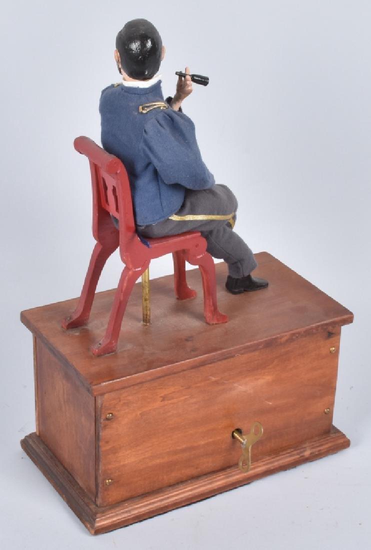 GENERAL ULYSSES S. GRANT CLOCKWORK SMOKER TOY - 5