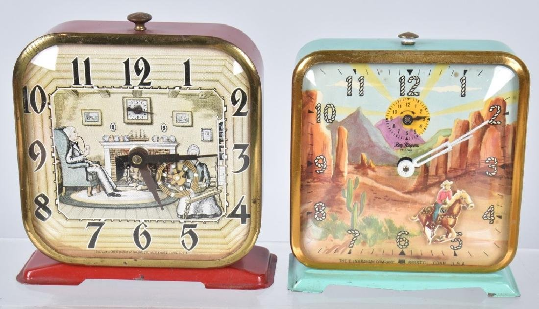 6-CHARACTER ALARM CLOCKS, ROY ROGERS & MORE - 2