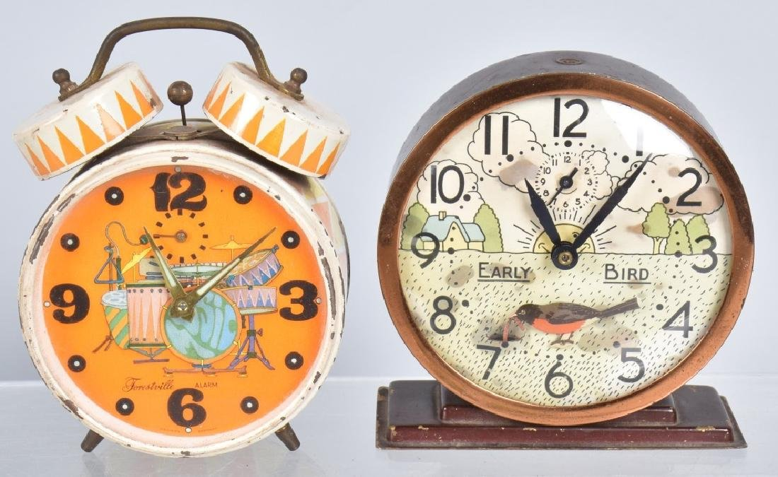 6-CHARACTER ALARM CLOCKS, ROY ROGERS & MORE - 3
