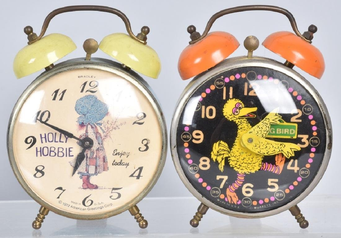 6-CHARACTER ALARM CLOCKS, WOODY and MORE - 2