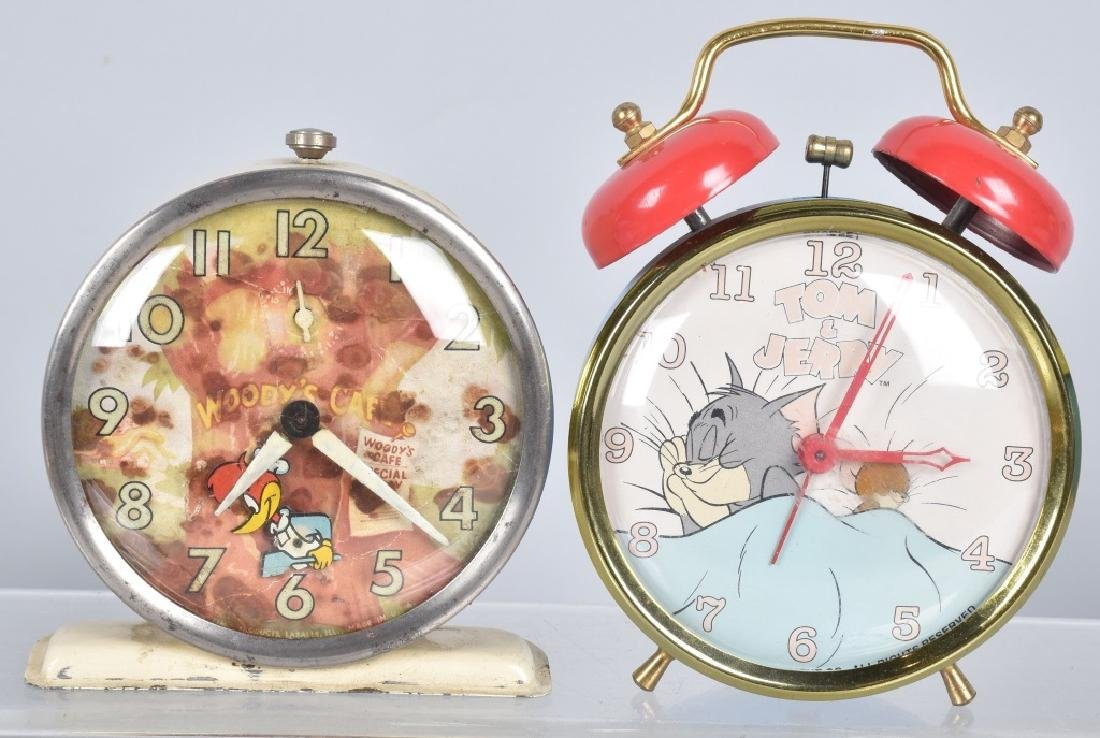 6-CHARACTER ALARM CLOCKS, WOODY and MORE - 3