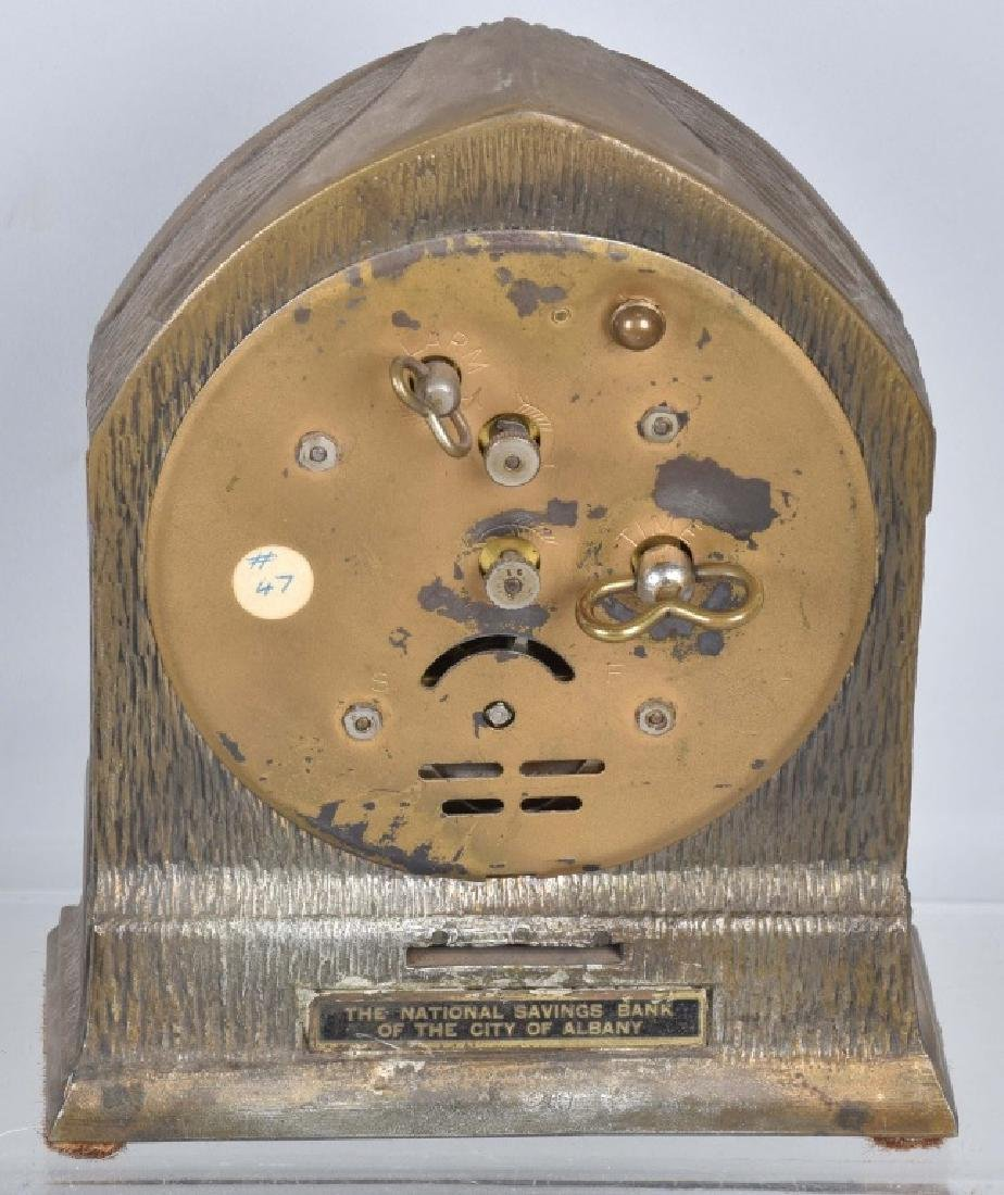 5-VINTAGE CLOCKS, 2 are BANKS - 4
