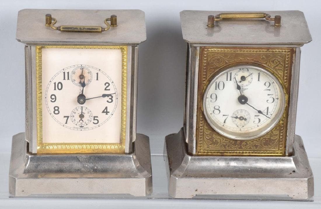 5-VINTAGE CLOCKS, 2 are BANKS - 6