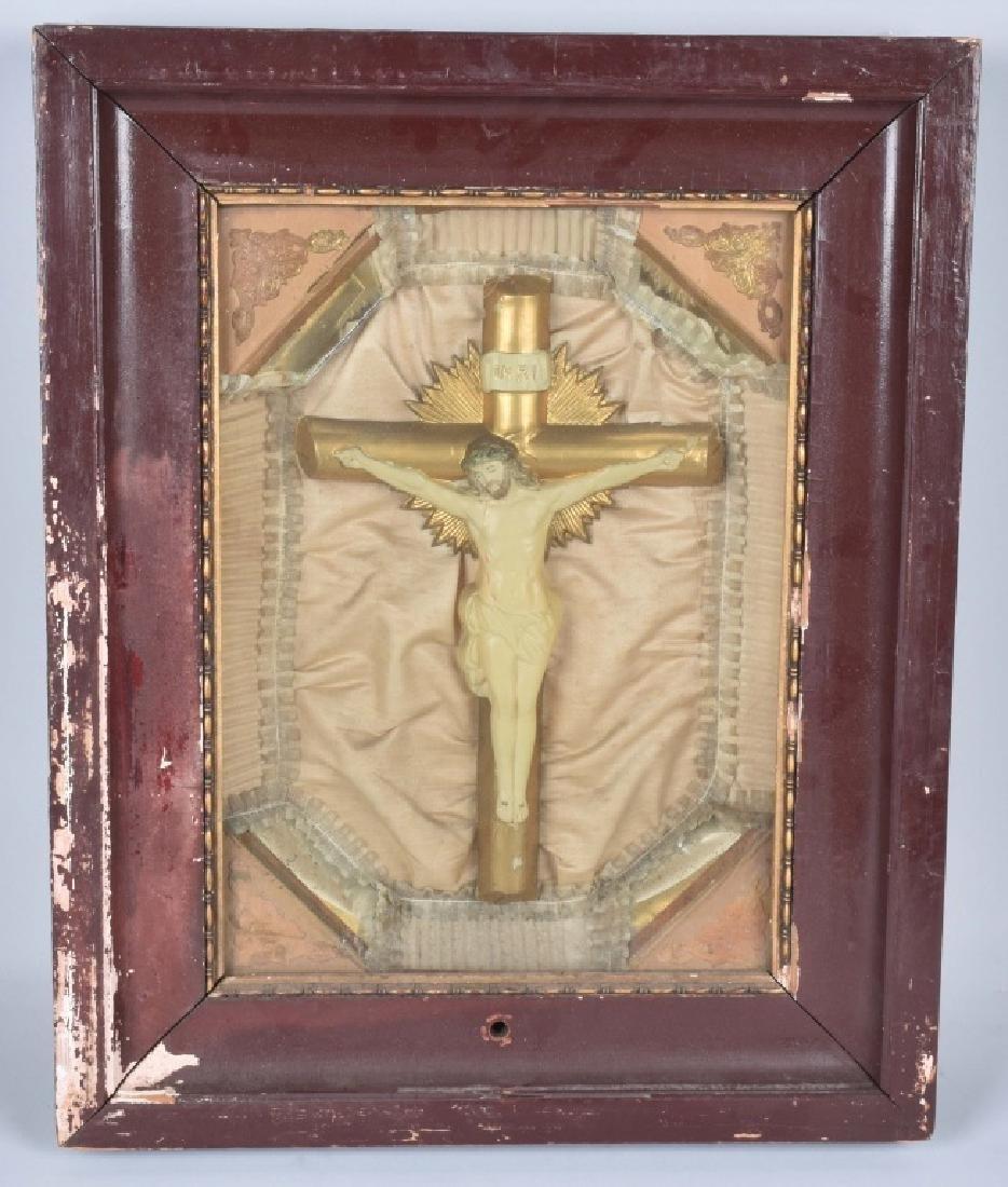 CHRIST MUSIC BOX & MISSION BELLS CLOCK - 2