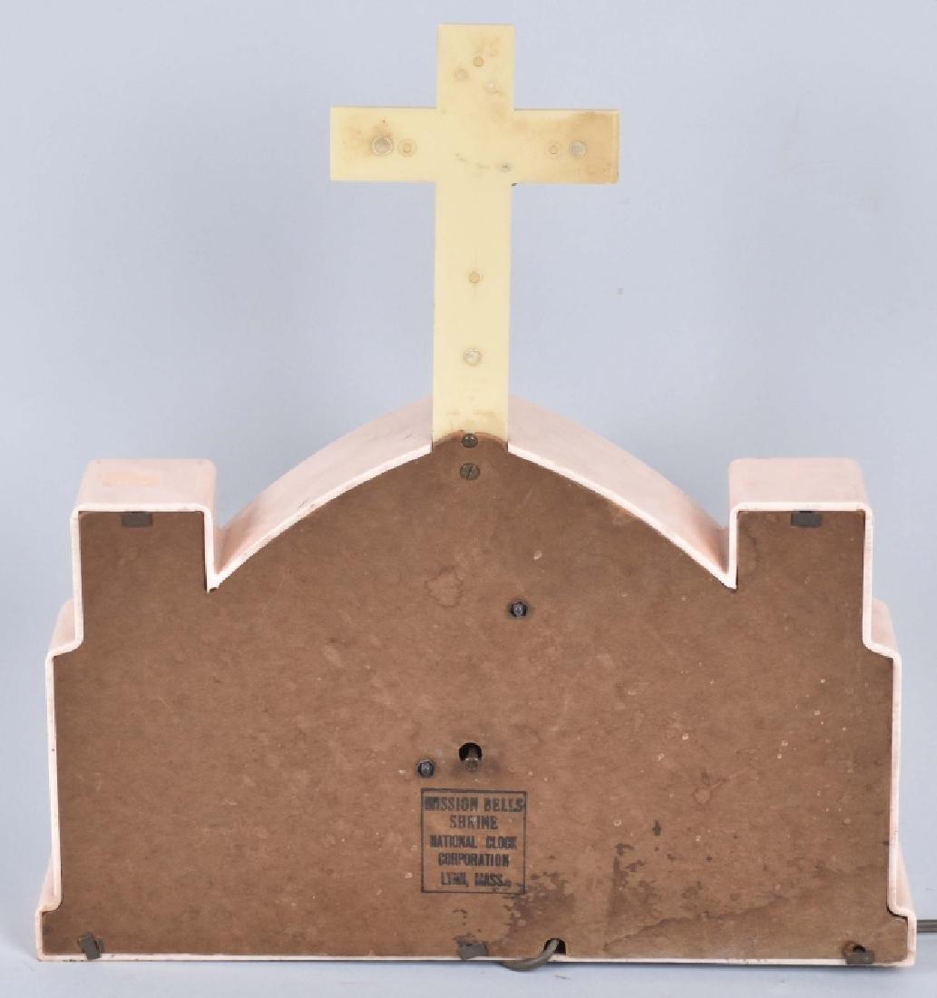 CHRIST MUSIC BOX & MISSION BELLS CLOCK - 6