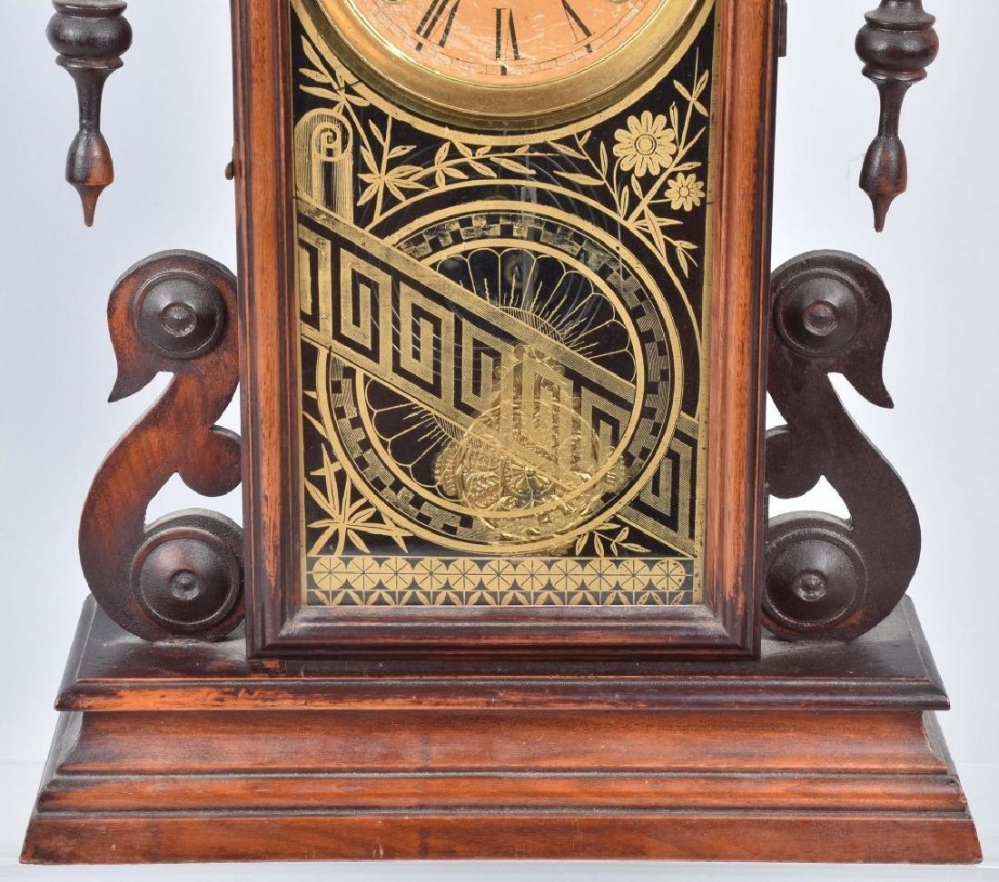 VICTORIAN KITCHEN SHELF CLOCK - 4