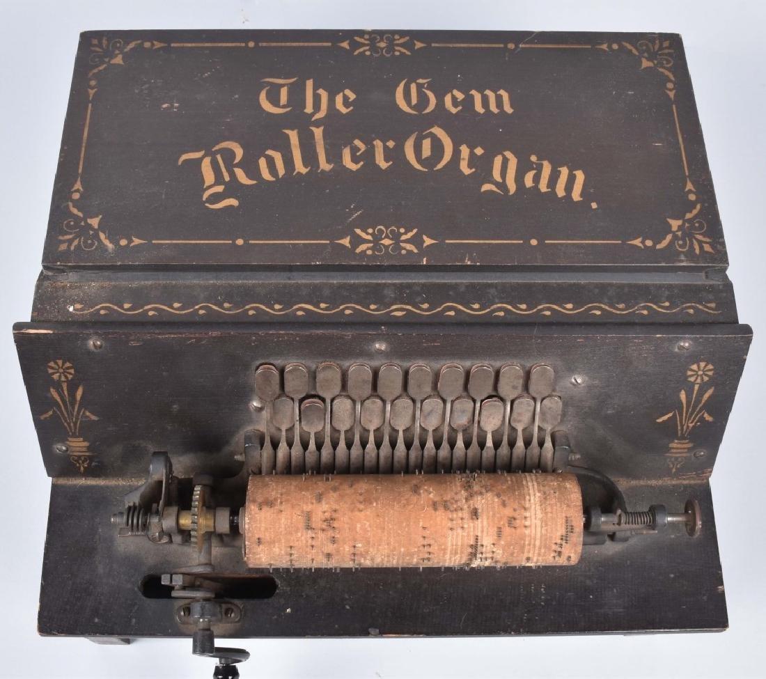 THE GEM ROLLER ORGAN - 2